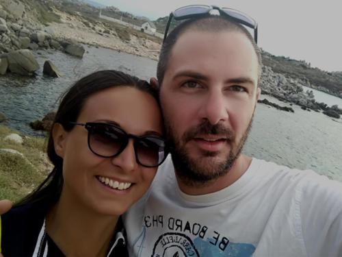 Selfie a Lavezzi